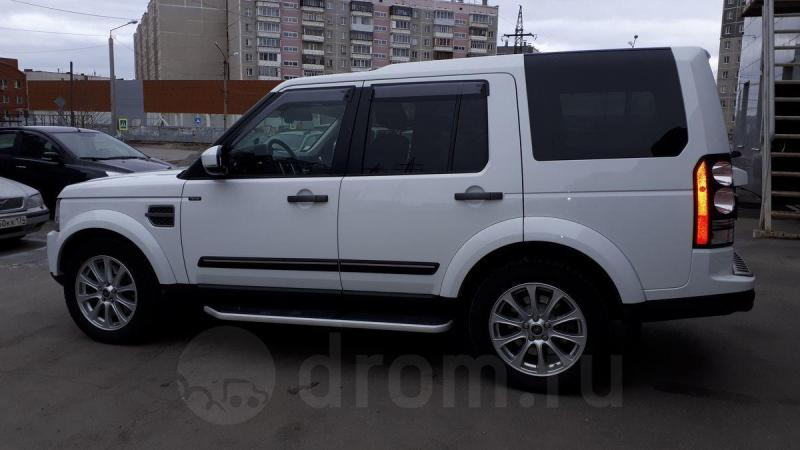 Land Rover Discovery 3.0 TDV6 AT 4WD (211 л. с.)